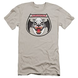 Airwolf - Mens Patch Premium Slim Fit T-Shirt
