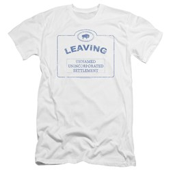 Warehouse 13 - Mens Now Leaving Univille Premium Slim Fit T-Shirt