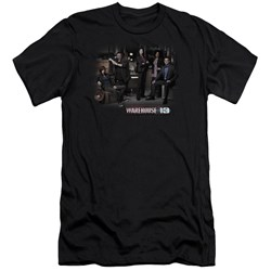 Warehouse 13 - Mens Warehouse Cast Premium Slim Fit T-Shirt