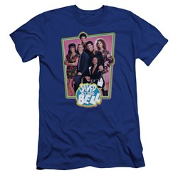 Saved By The Bell - Mens Saved Cast Premium Slim Fit T-Shirt