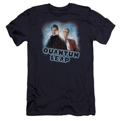 Quantum Leap - Mens Sam And Al Premium Slim Fit T-Shirt