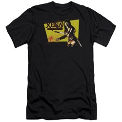 Xena - Mens Cut Up Premium Slim Fit T-Shirt