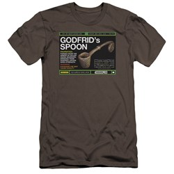 Warehouse 13 - Mens Godfrid Spoon Premium Slim Fit T-Shirt