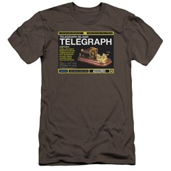 Warehouse 13 - Mens Telegraph Island Premium Slim Fit T-Shirt
