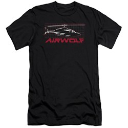 Airwolf - Mens Grid Premium Slim Fit T-Shirt
