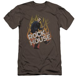 House - Mens Rock The House Premium Slim Fit T-Shirt