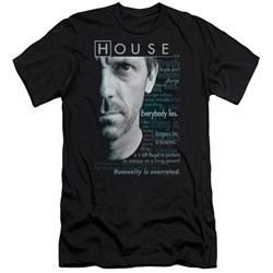 House - Mens Houseisms Premium Slim Fit T-Shirt
