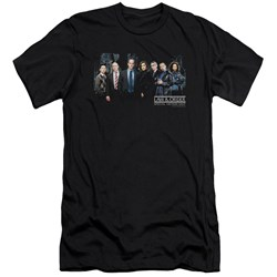 Law And Order Svu - Mens Cast Premium Slim Fit T-Shirt