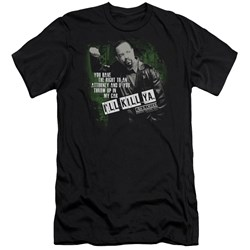 Law And Order Svu - Mens Ill Kill Ya Premium Slim Fit T-Shirt