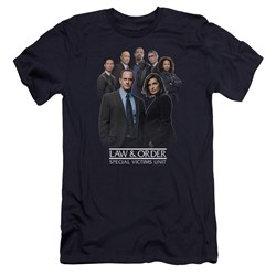 Law And Order Svu - Mens Team Premium Slim Fit T-Shirt