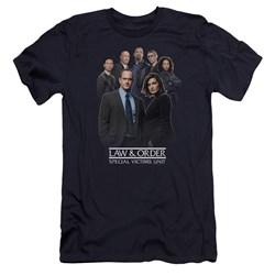 Law And Order Svu - Mens Team Premium Slim Fit T-Shirt