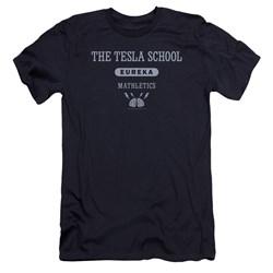 Eureka - Mens Tesla School Premium Slim Fit T-Shirt
