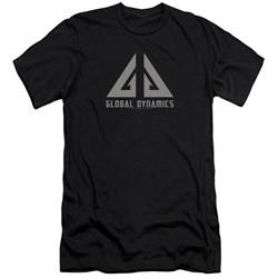Eureka - Mens Global Dynamics Logo Premium Slim Fit T-Shirt