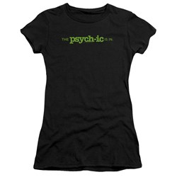 Psych - Juniors The Psychic Is In Premium Bella T-Shirt