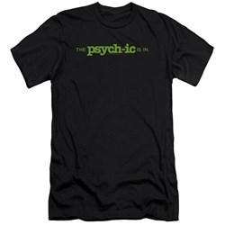 Psych - Mens The Psychic Is In Premium Slim Fit T-Shirt