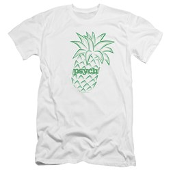 Psych - Mens Pineapple Premium Slim Fit T-Shirt