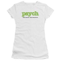 Psych - Juniors Title Premium Bella T-Shirt