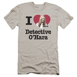 Psych - Mens I Heart Ohara Premium Slim Fit T-Shirt