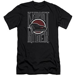 Knight Rider - Mens Logo Premium Slim Fit T-Shirt
