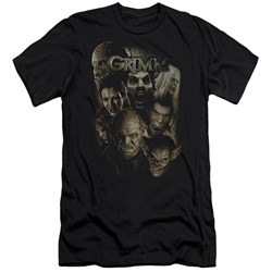 Grimm - Mens Wesen Premium Slim Fit T-Shirt