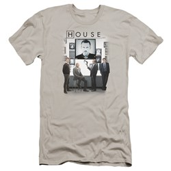 House - Mens The Cast Premium Slim Fit T-Shirt