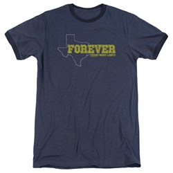 Friday Night Lights - Mens Texas Forever Ringer T-Shirt