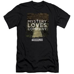 Warehouse 13 - Mens Mystery Loves Premium Slim Fit T-Shirt