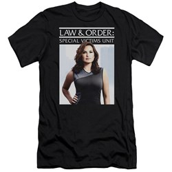 Law And Order Svu - Mens Behind Closed Doors Premium Slim Fit T-Shirt