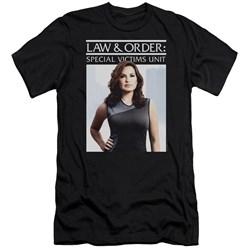 Law And Order Svu - Mens Behind Closed Doors Premium Slim Fit T-Shirt
