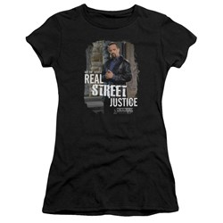 Law And Order Svu - Juniors Street Justice Premium Bella T-Shirt