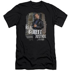 Law And Order Svu - Mens Street Justice Premium Slim Fit T-Shirt