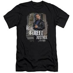 Law And Order Svu - Mens Street Justice Premium Slim Fit T-Shirt