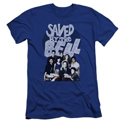 Saved By The Bell - Mens Retro Cast Premium Slim Fit T-Shirt