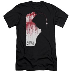 Bates Motel - Mens Criminal Profile Premium Slim Fit T-Shirt