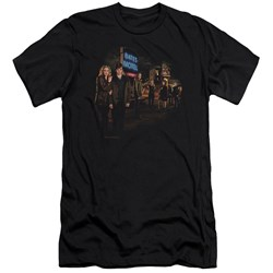 Bates Motel - Mens Cast Premium Slim Fit T-Shirt