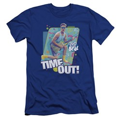 Saved By The Bell - Mens Time Out Premium Slim Fit T-Shirt