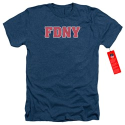 New York City - Mens Fdny Heather T-Shirt