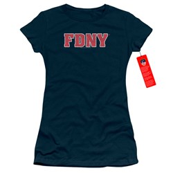 New York City - Juniors Fdny T-Shirt