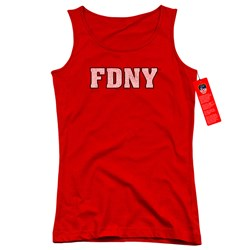New York City - Juniors Fdny Tank Top