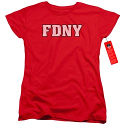 New York City - Womens Fdny T-Shirt