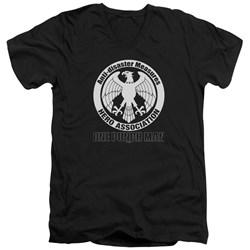 One Punch Man - Mens Hero Association Logo V-Neck T-Shirt