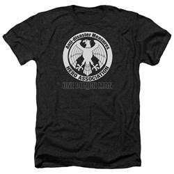 One Punch Man - Mens Hero Association Logo Heather T-Shirt