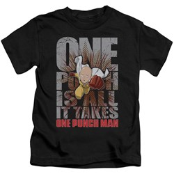 One Punch Man - Youth One Punch Is All It Takes T-Shirt