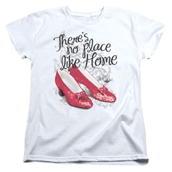Wizard Of Oz - Womens Ruby Slippers T-Shirt