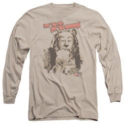 Wizard Of Oz - Mens Put Em Up Long Sleeve T-Shirt