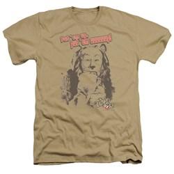 Wizard Of Oz - Mens Put Em Up Heather T-Shirt