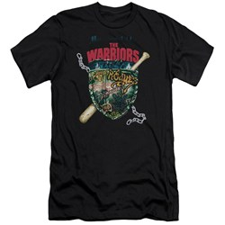 Warriors - Mens Shield Premium Slim Fit T-Shirt