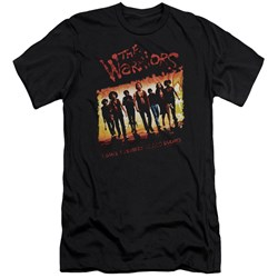 Warriors - Mens One Gang Premium Slim Fit T-Shirt
