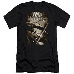 War Of The Worlds - Mens Death Rays Premium Slim Fit T-Shirt