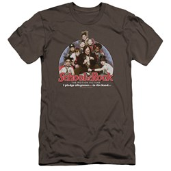 School Of Rock - Mens I Pledge Allegiance Premium Slim Fit T-Shirt